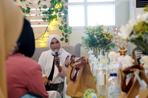 Futri Zulya di klinik tumbuh kembang anak Jogja