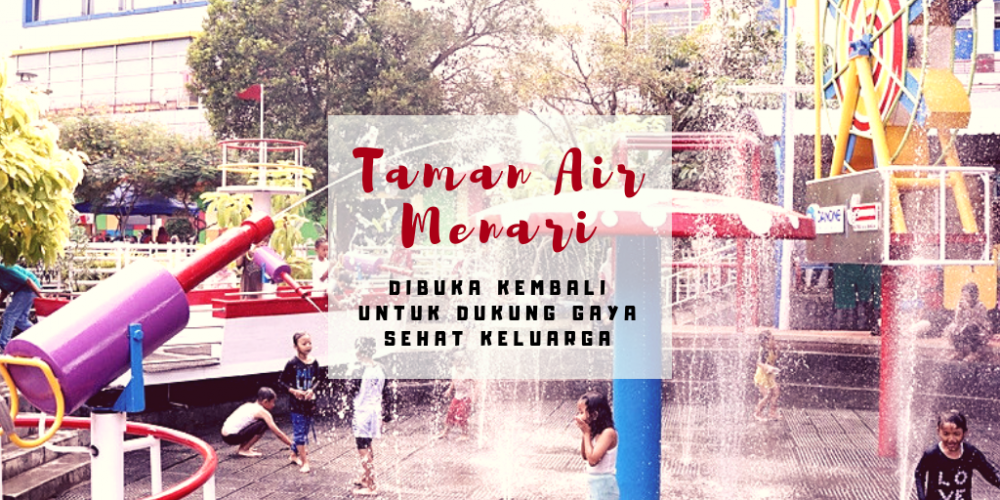 Taman Air Menari di Taman Pintar Yogyakarta