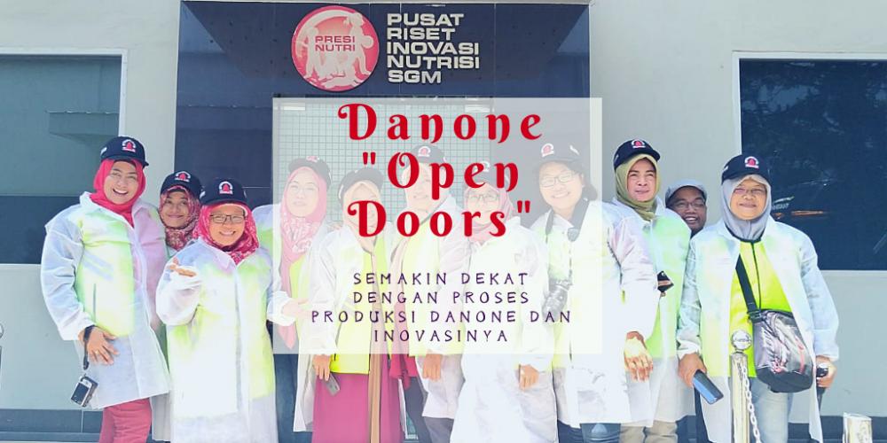"Selebrasi 100 Tahun Danone melalui ""Danone Open Doors"""
