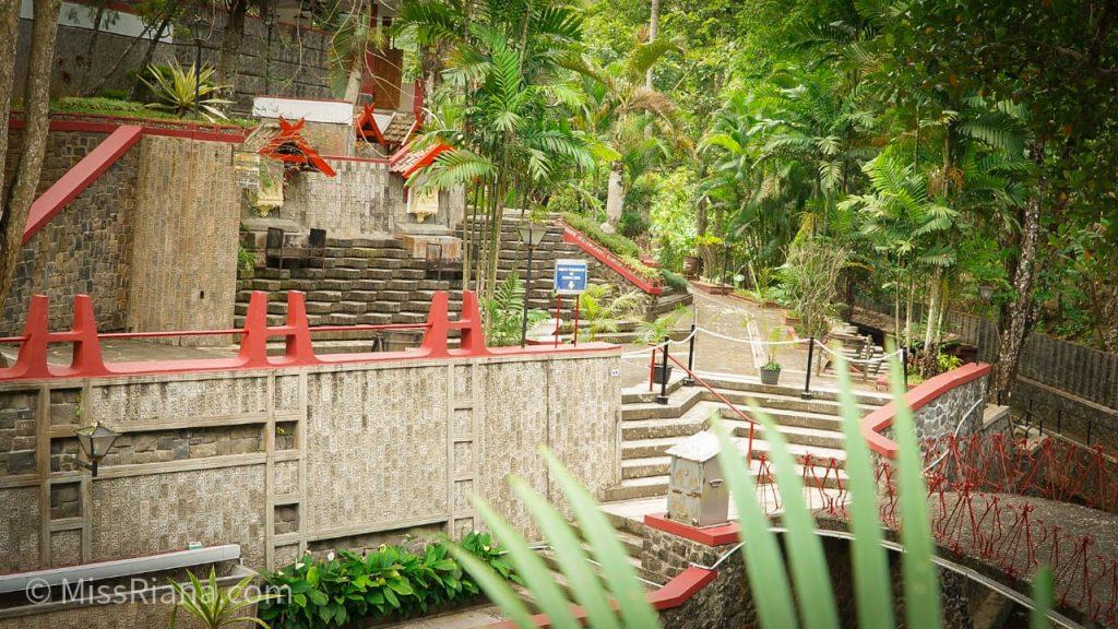 Nuansa Hijau di tempat Ziarah Sendangsono (dok.Riana Dewie)