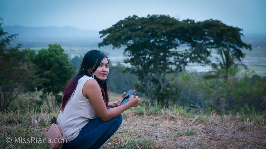 Salah satu Spot Foto di area Kopi Ampirono yang keren (Dok. Riana Dewie)