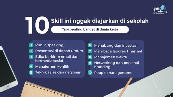 manfaat skill academy untuk peserta
