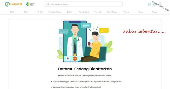Proses Pendaftaran Data