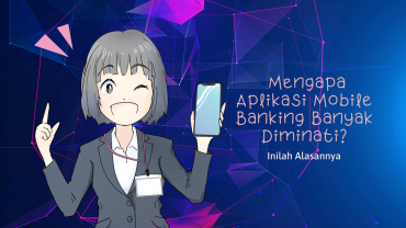 Aplikasi mobile banking diminati