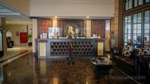 Lobby D'Senopati Hotel Yogyakarta