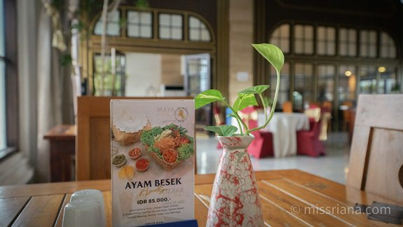 Restoran D'Senopati Hotel Yogyakarta