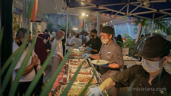Suasana Berbuka di Grand Aston Yogyakarta