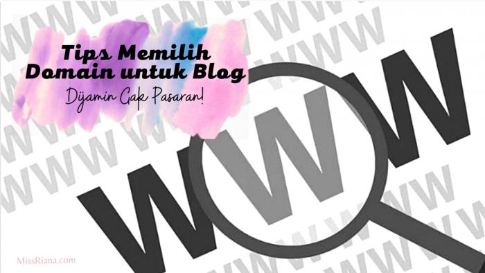 Domain untuk blog yang bagus