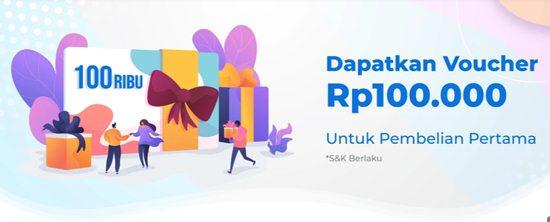 Voucher BBP Indonesia 100 ribu
